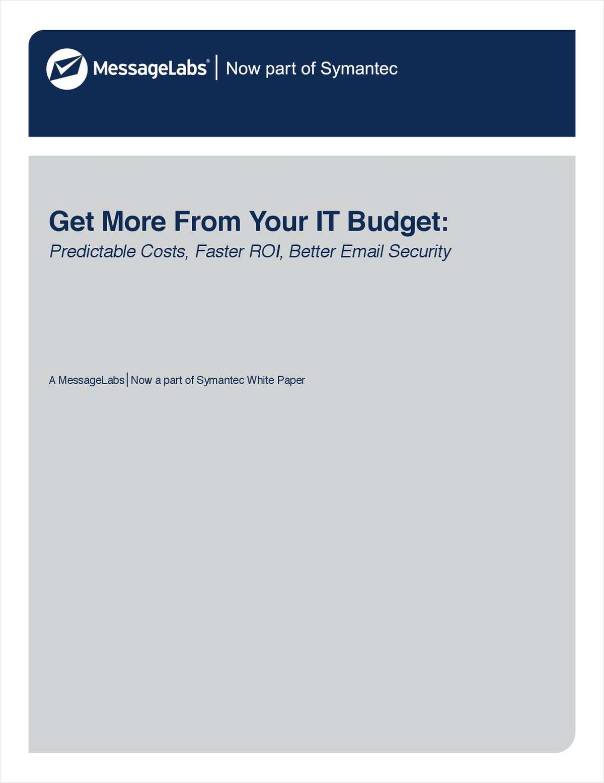 Get More from Your IT Budget