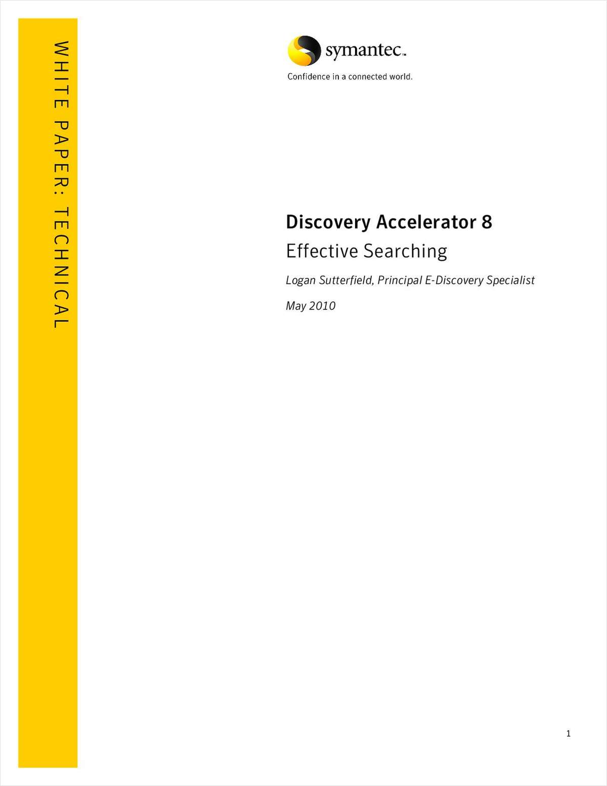 Discovery Accelerator 8 Effective Searching