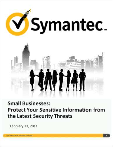 Small Businesses: Protect Your Sensitive Information from the Latest Security Threats