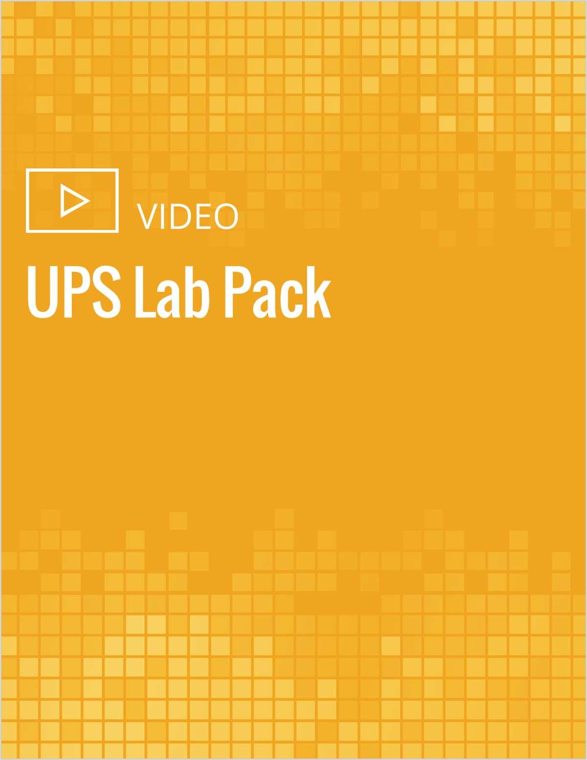 UPS Lab Pak