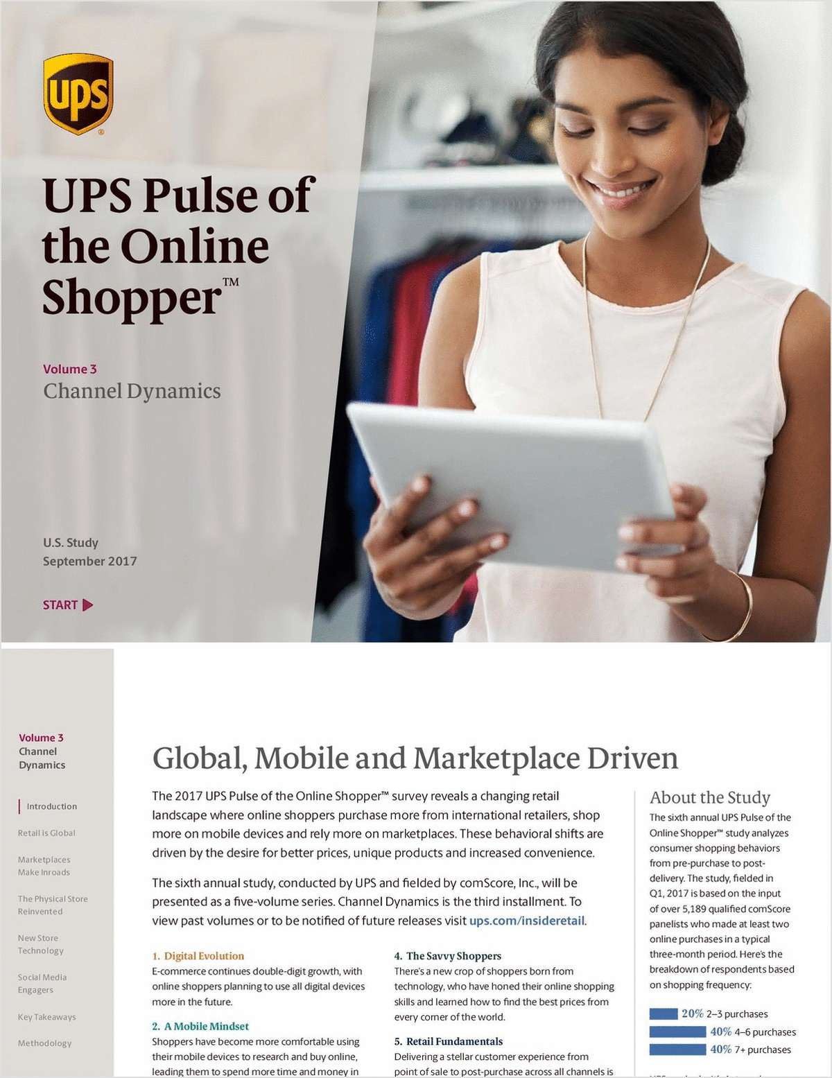 2017 UPS Pulse of the Online Shopper™ Channel Dynamics