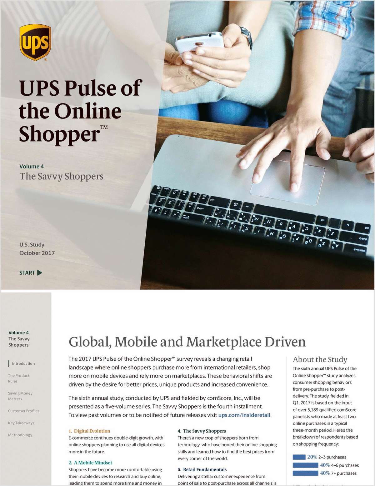 2017 UPS Pulse of the Online Shopper™ The Savvy Shoppers