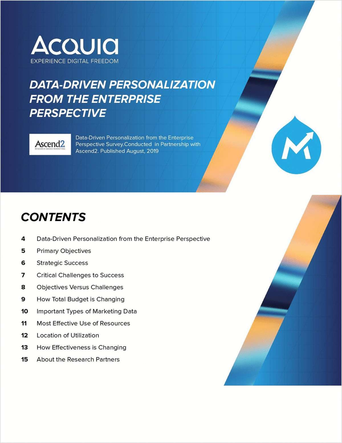 Data-Driven Personalization from the Enterprise Perspective