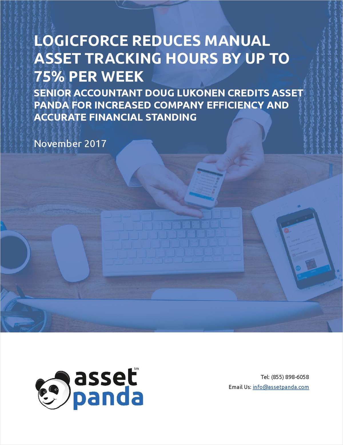 LogicForce Reduces Manual Asset Tracking Hours by Up to 75% Per Week