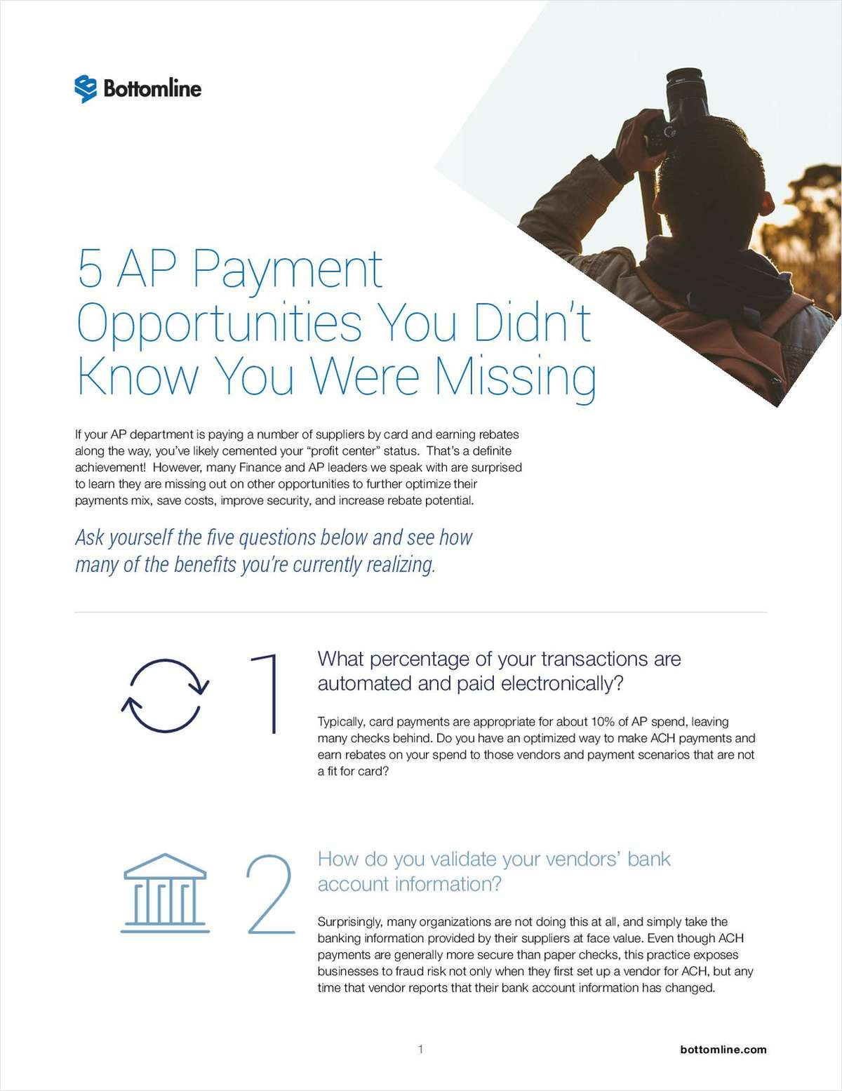 5 AP Payment Opportunities You Didn't Know You Were Missing