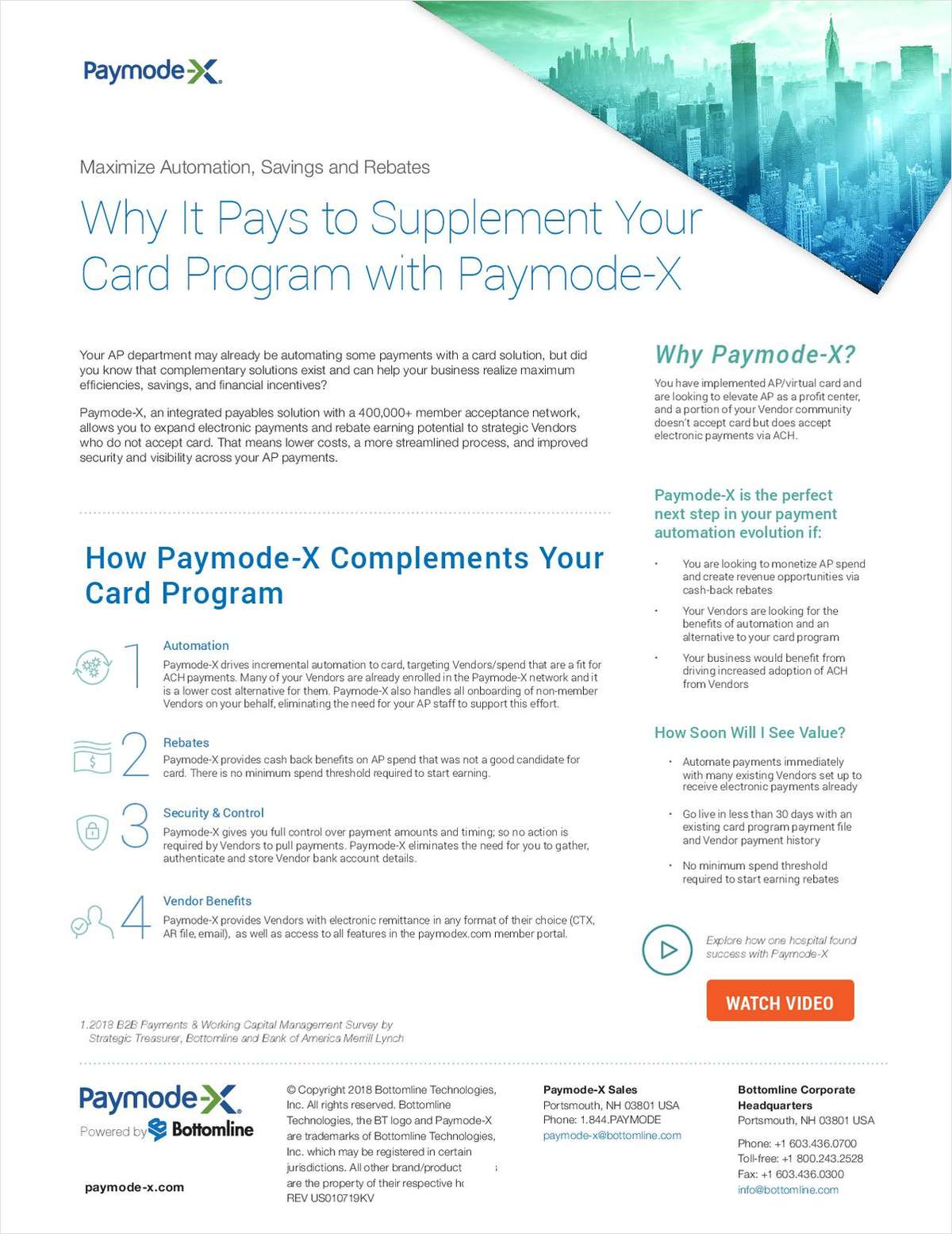 Why It Pays to Supplement Your Card Program with Paymode-X