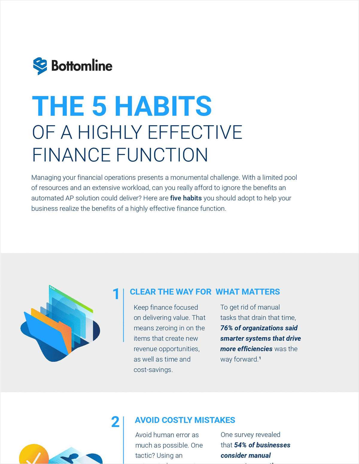 The 5 Habits of a Highly Effective Finance Function