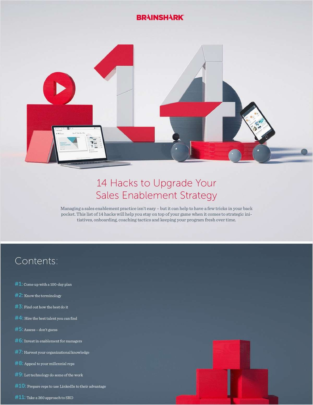 14 Hacks to Upgrade Your Sales Enablement Strategy
