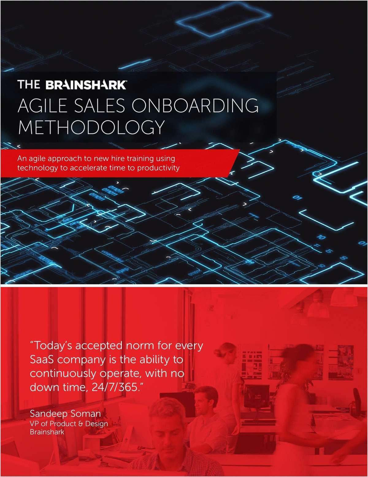 The Brainshark Agile Sales Onboarding Methodology