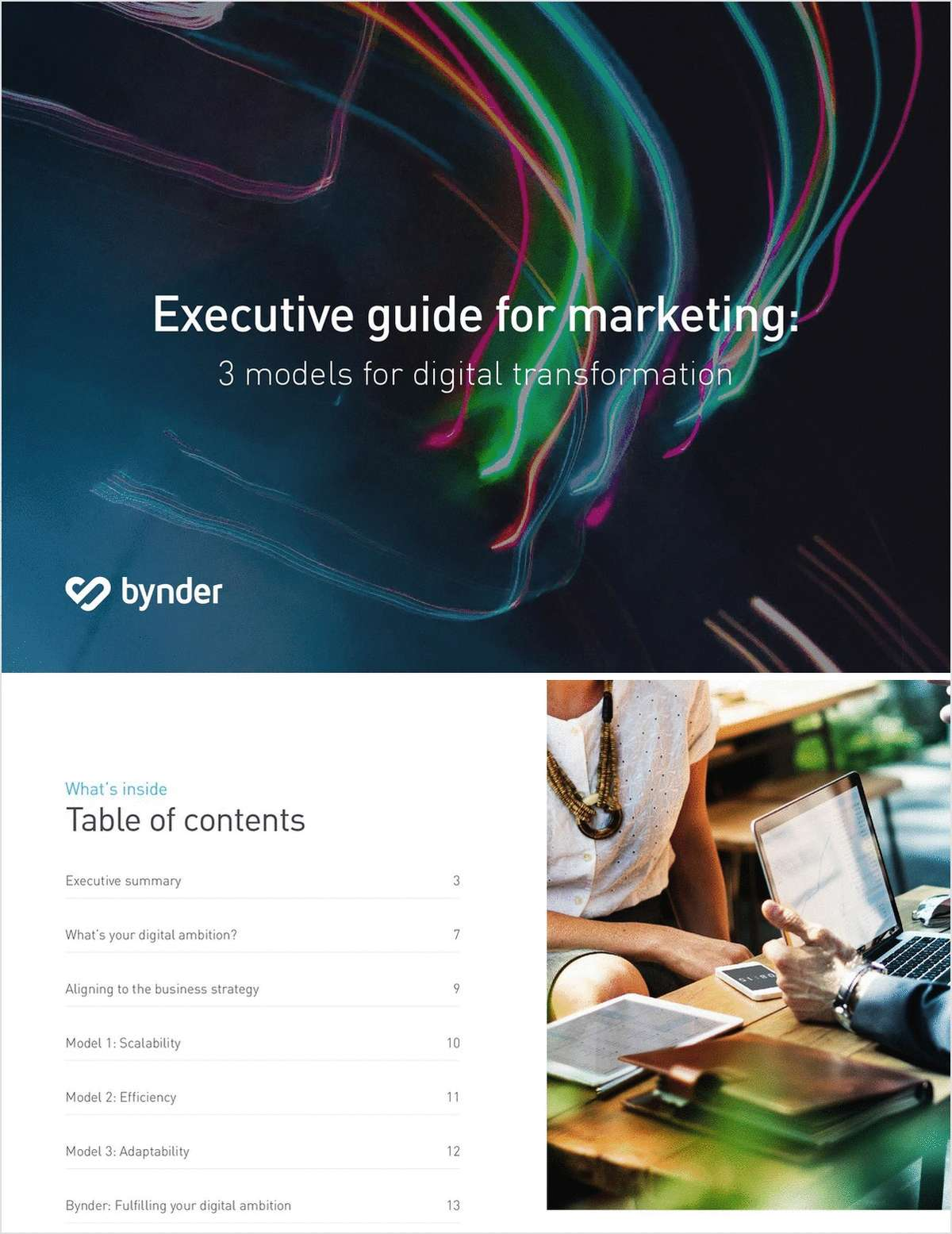 Executive Guide for Marketing: 3 Models for Digital Transformation