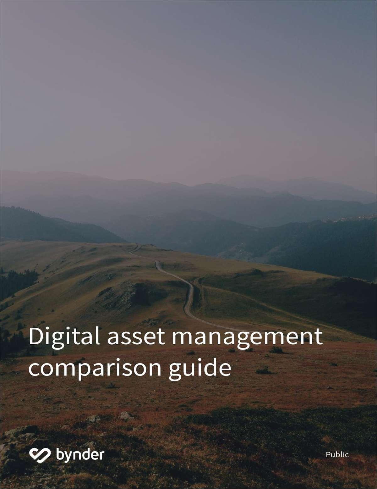 Digital Asset Management Comparison Guide