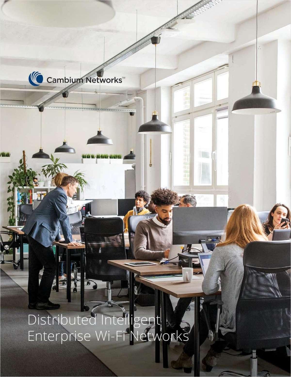 Distributed Intelligent Enterprise Wi-Fi Networks