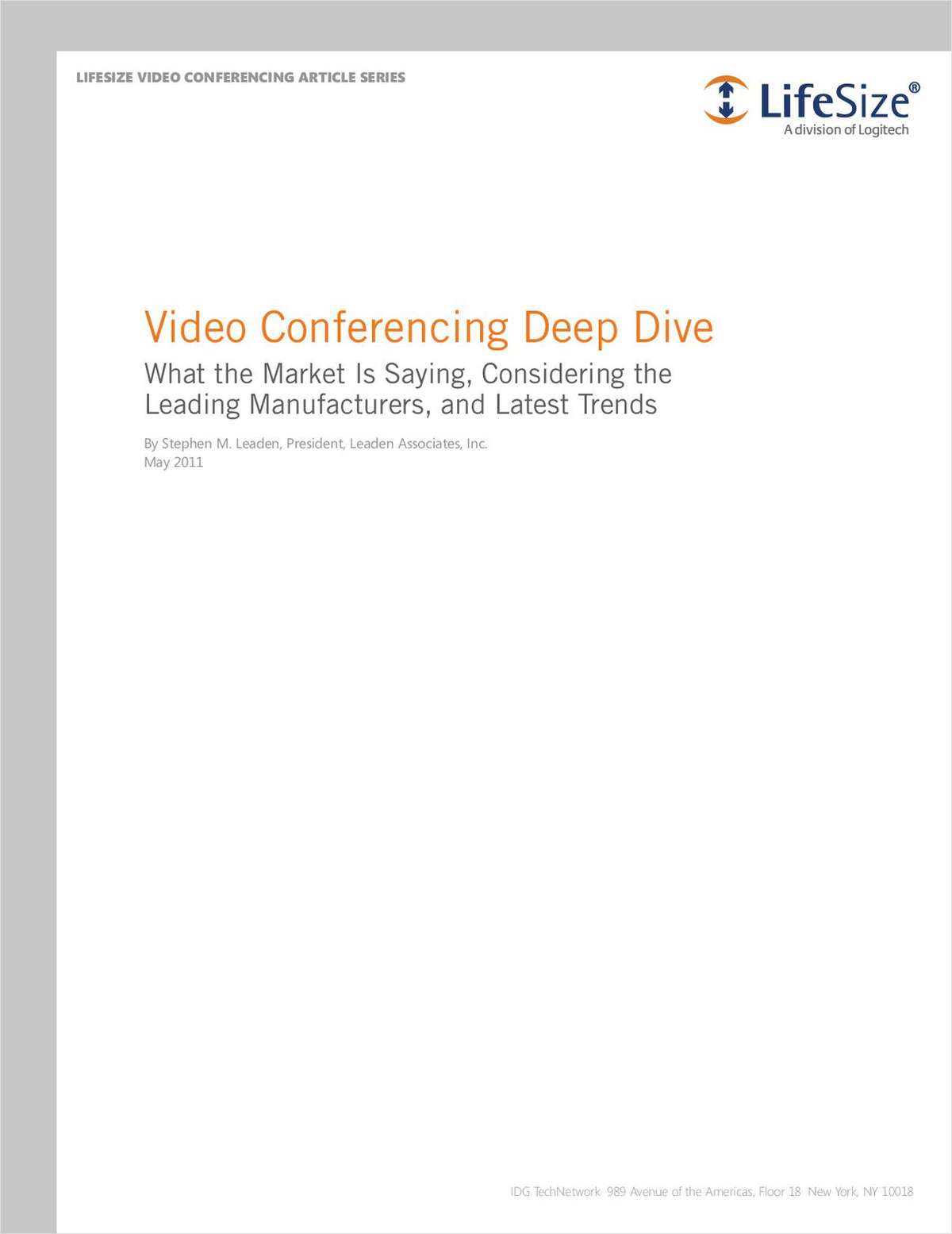 Video Conferencing Deep Dive