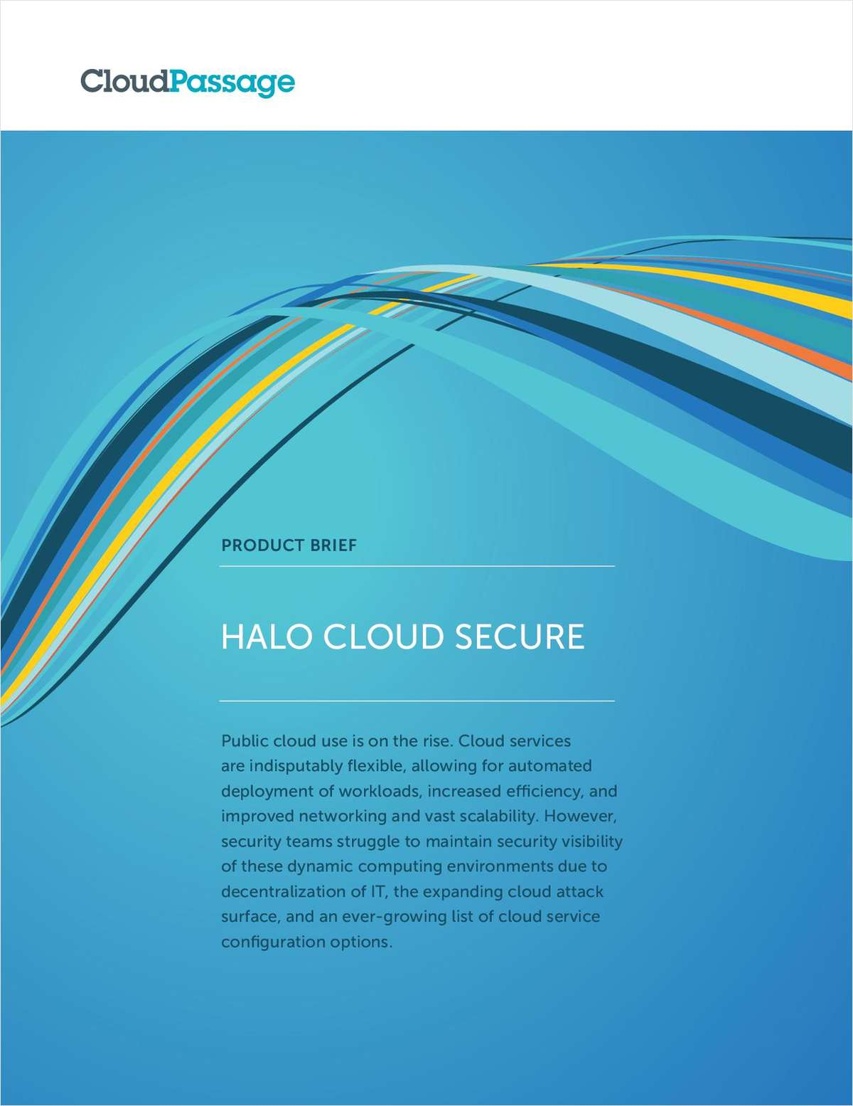 Protect Your Public Cloud with Halo Cloud Secure