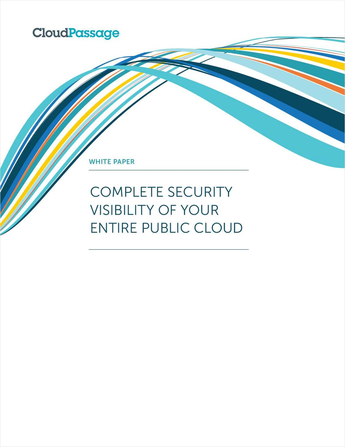 Complete Security Visibility of Your Entire Public Cloud