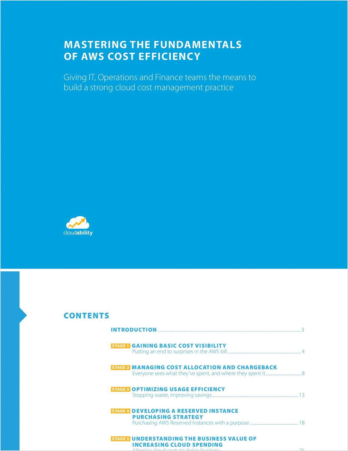 Mastering the Fundamentals of AWS Cost Efficiency