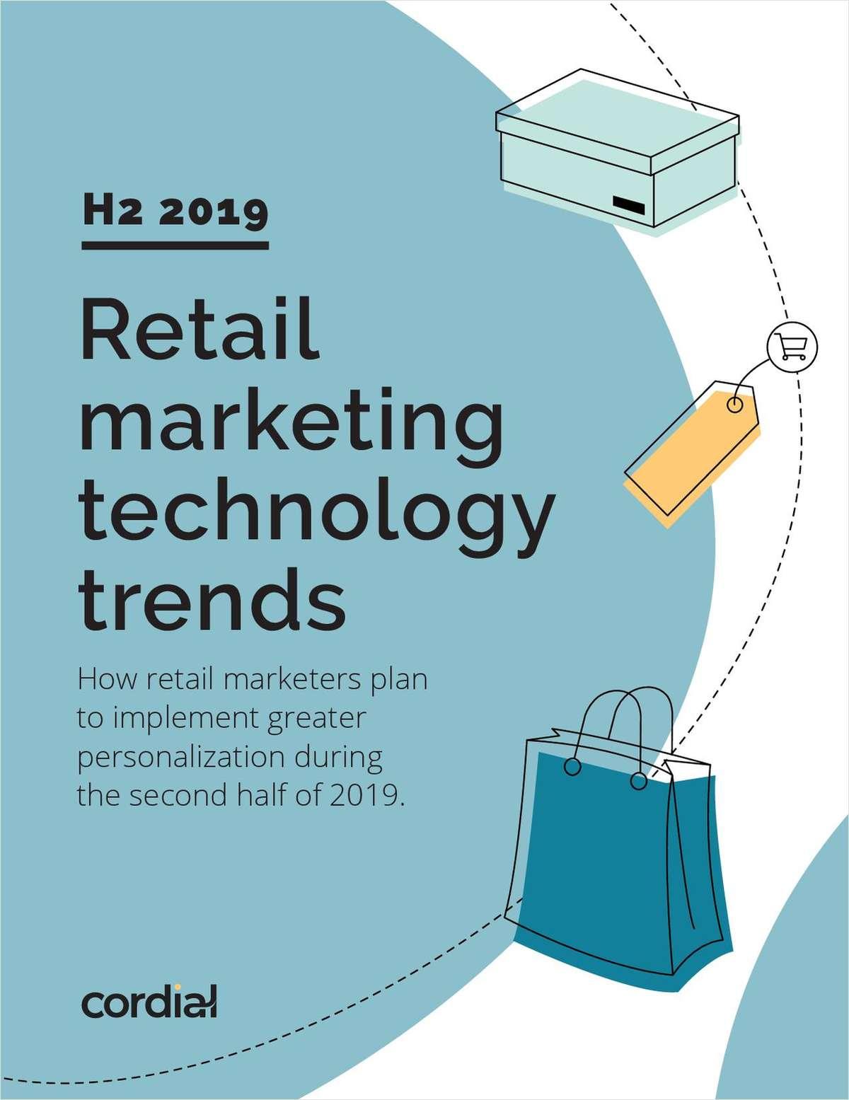 Retail Marketing Technology Trends