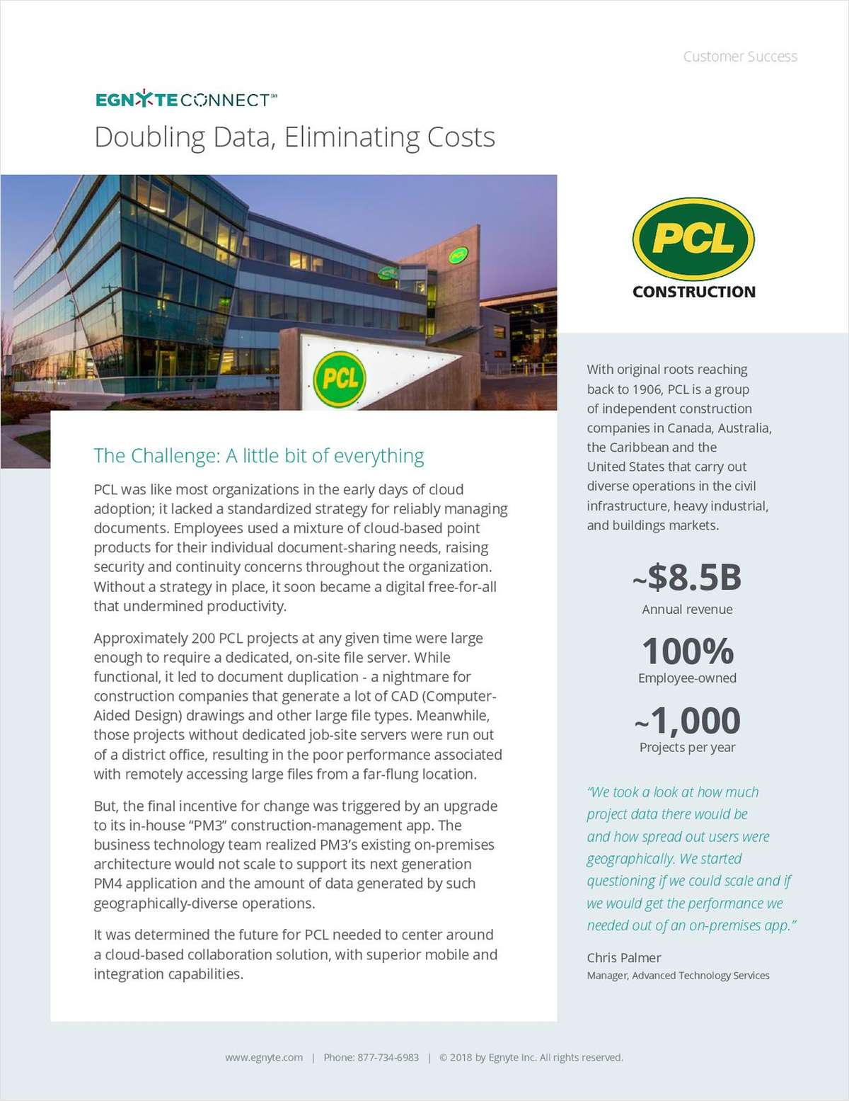 Doubling Data, Eliminating Costs