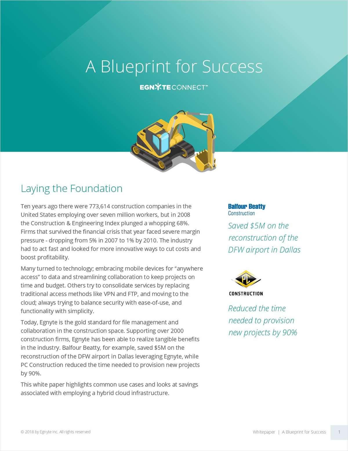 Hybrid Cloud Infrastructure: A Blueprint for Success