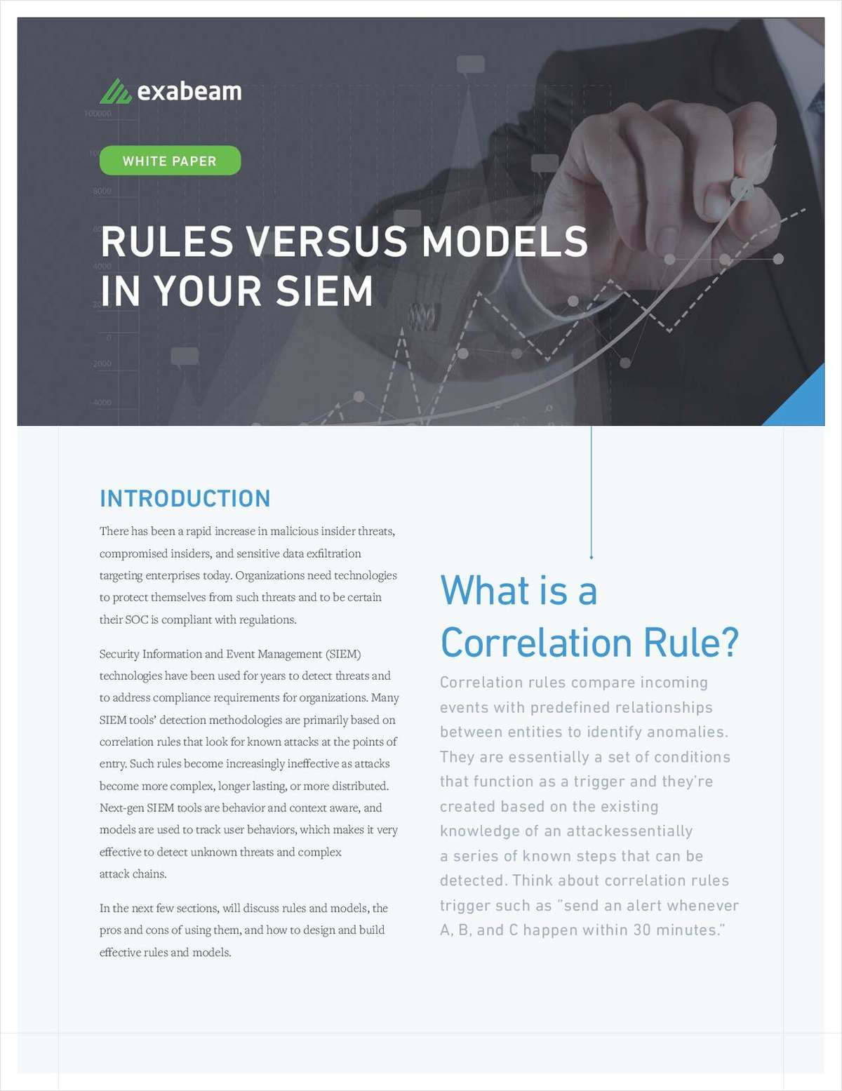 Rules Versus Models in Your SIEM