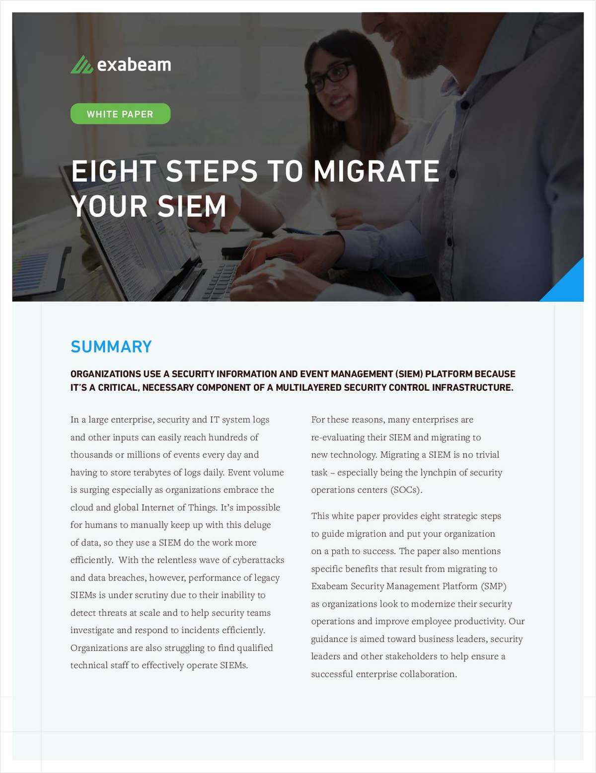 8 Steps to Migrate your SIEM
