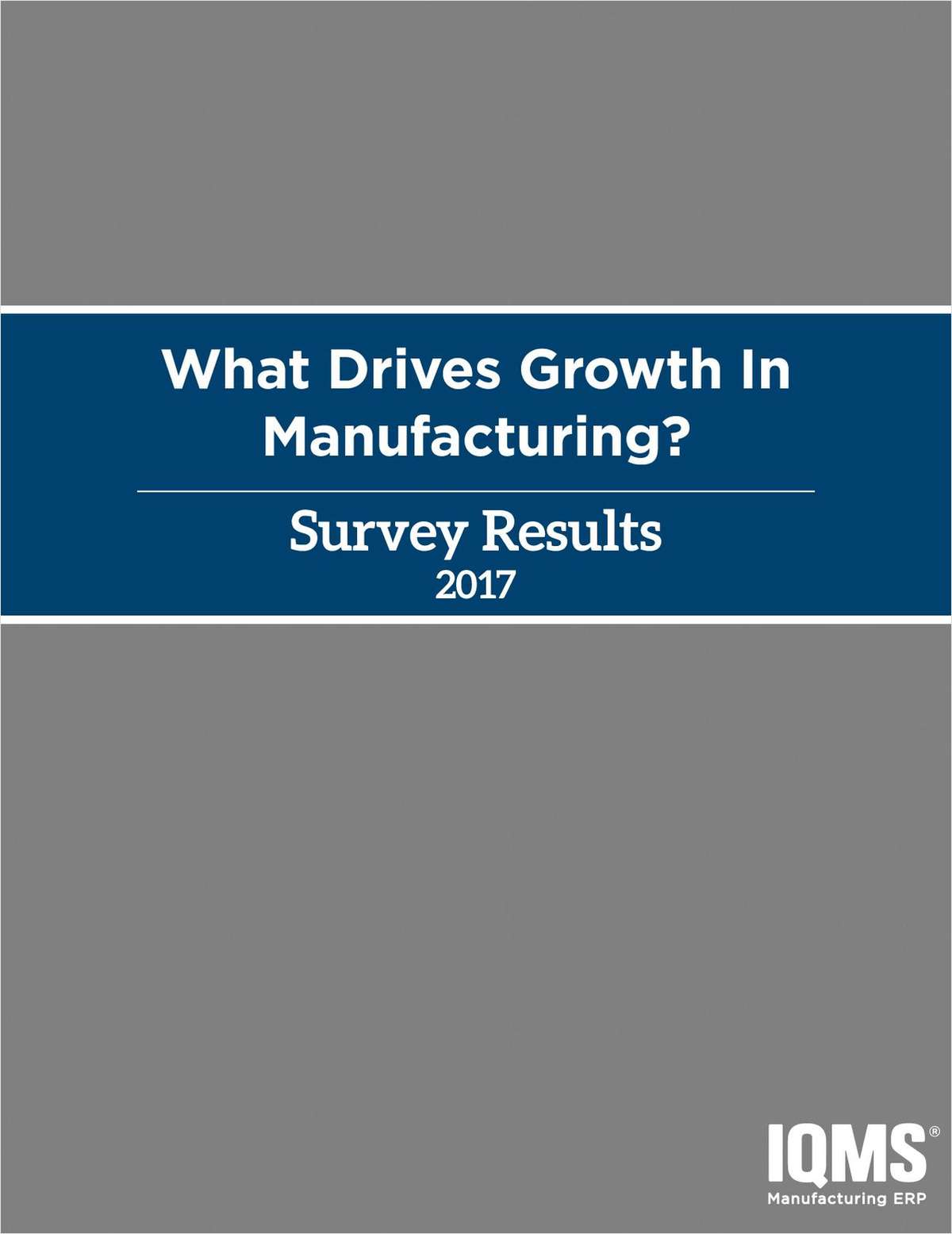 What Drives Growth in Manufacturing?