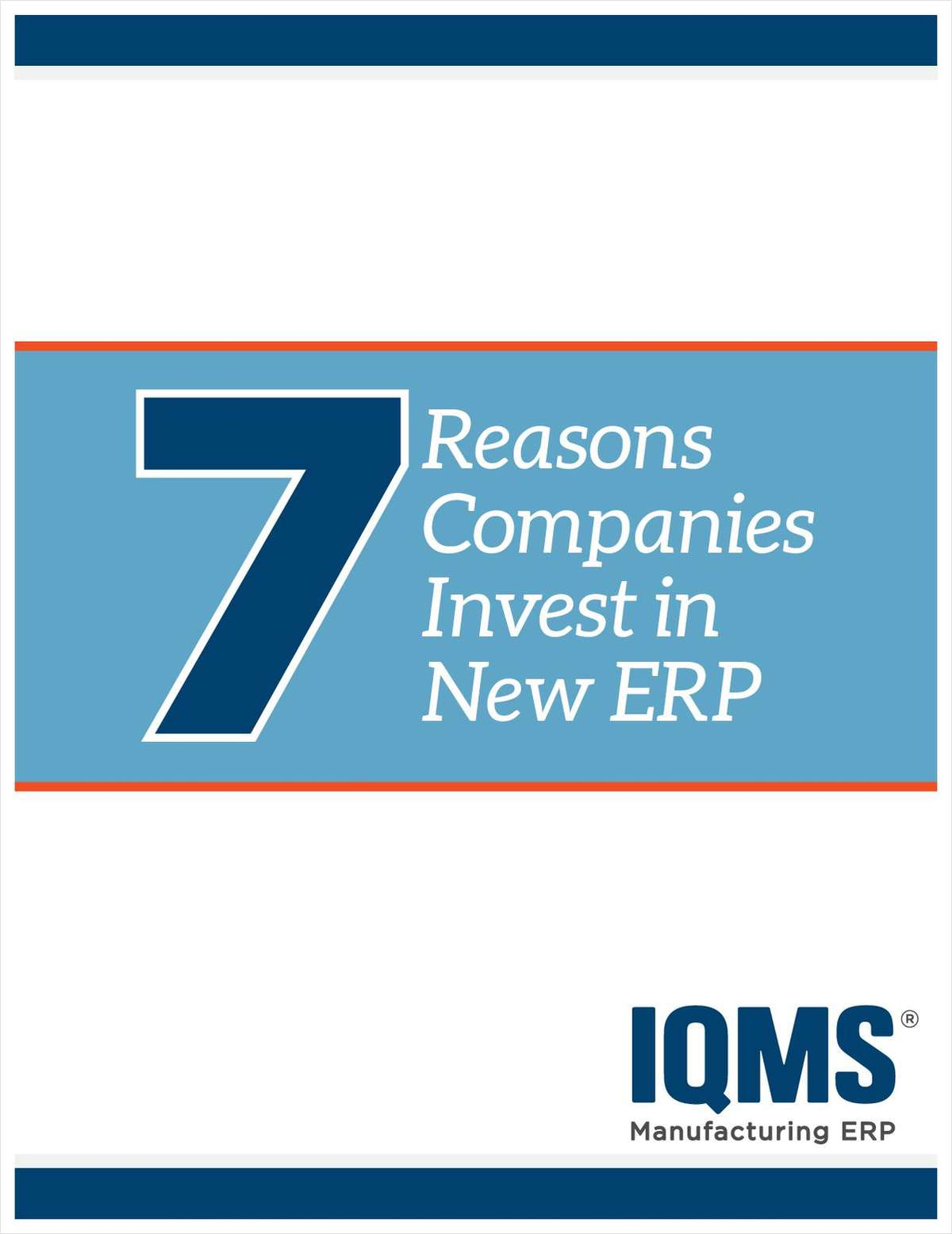 7 Reasons Companies Invest in New ERP