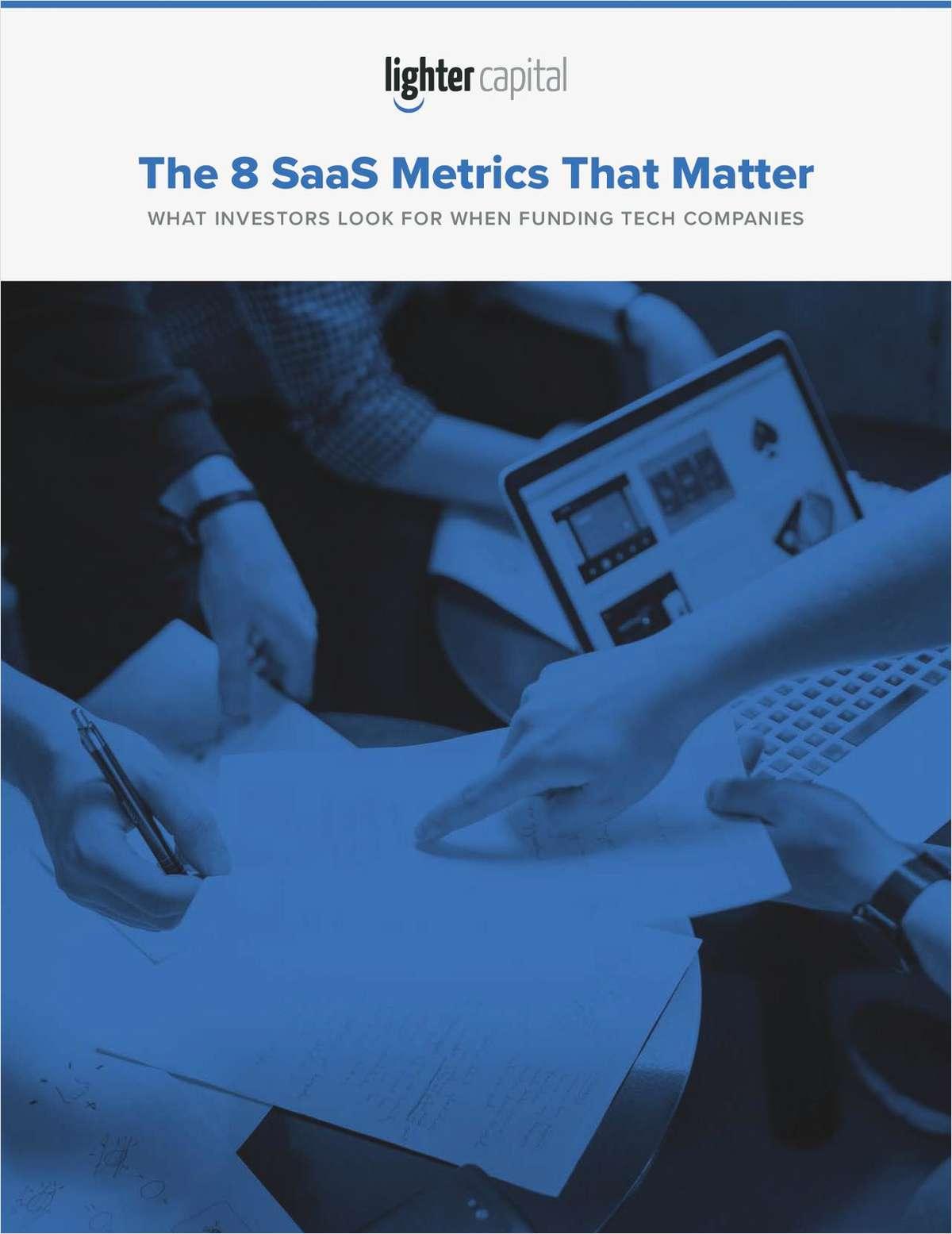 The 8 SaaS Metrics that Matter