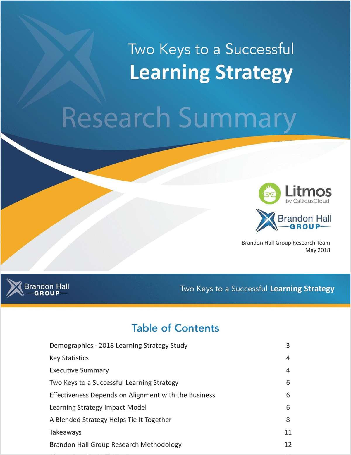 Two Keys to a Successful Learning Strategy