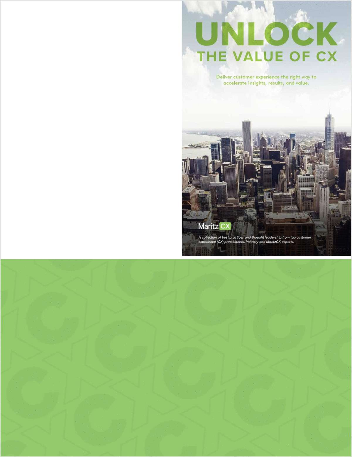 Unlock The Value of CX