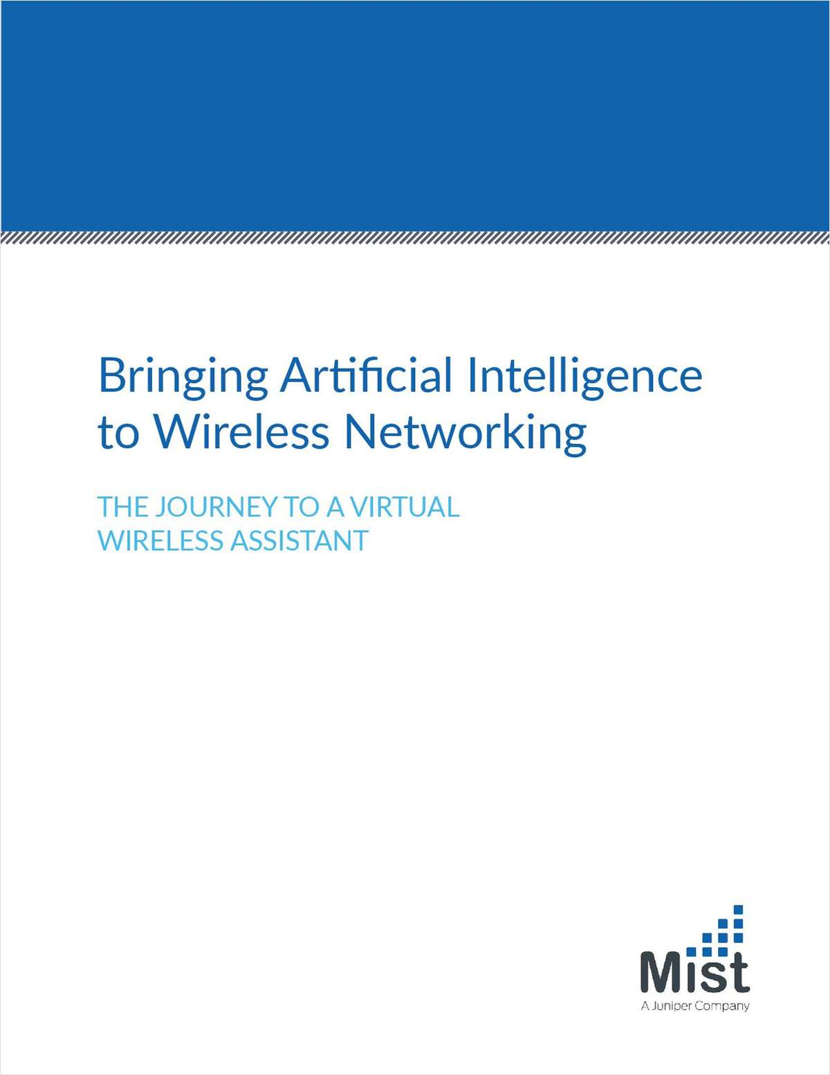 Bringing Artificial Intelligence to Wireless Networking