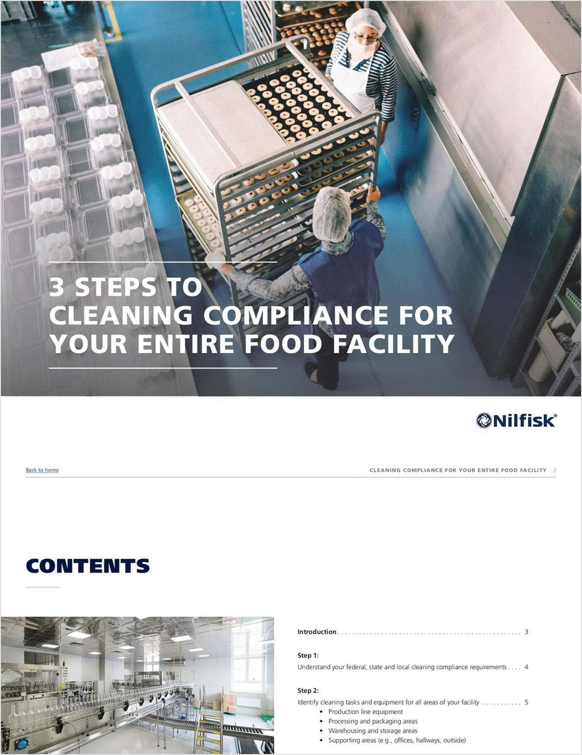 3 Steps to Cleaning Compliance for Your Entire Food Facility