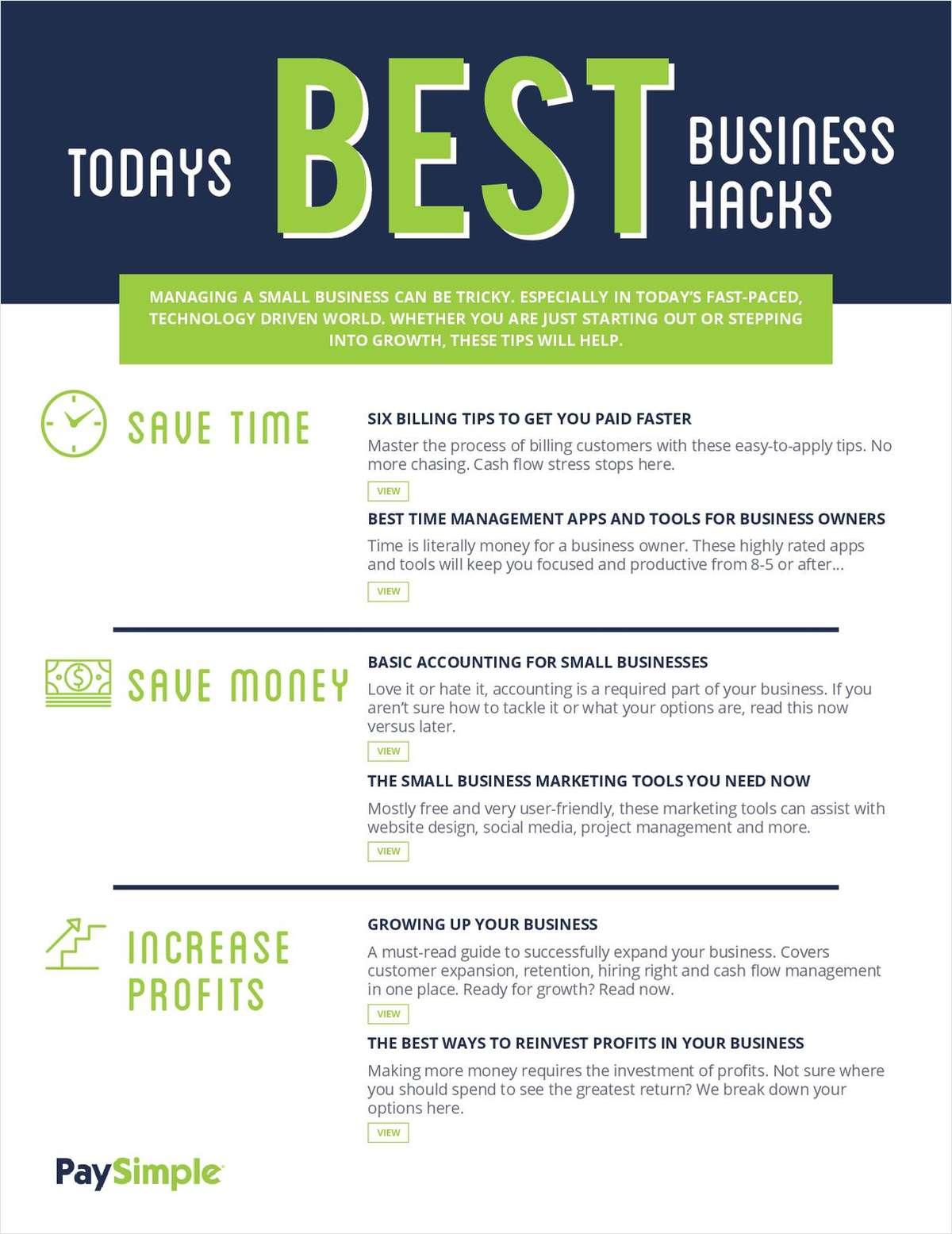 Best Business Hacks Today