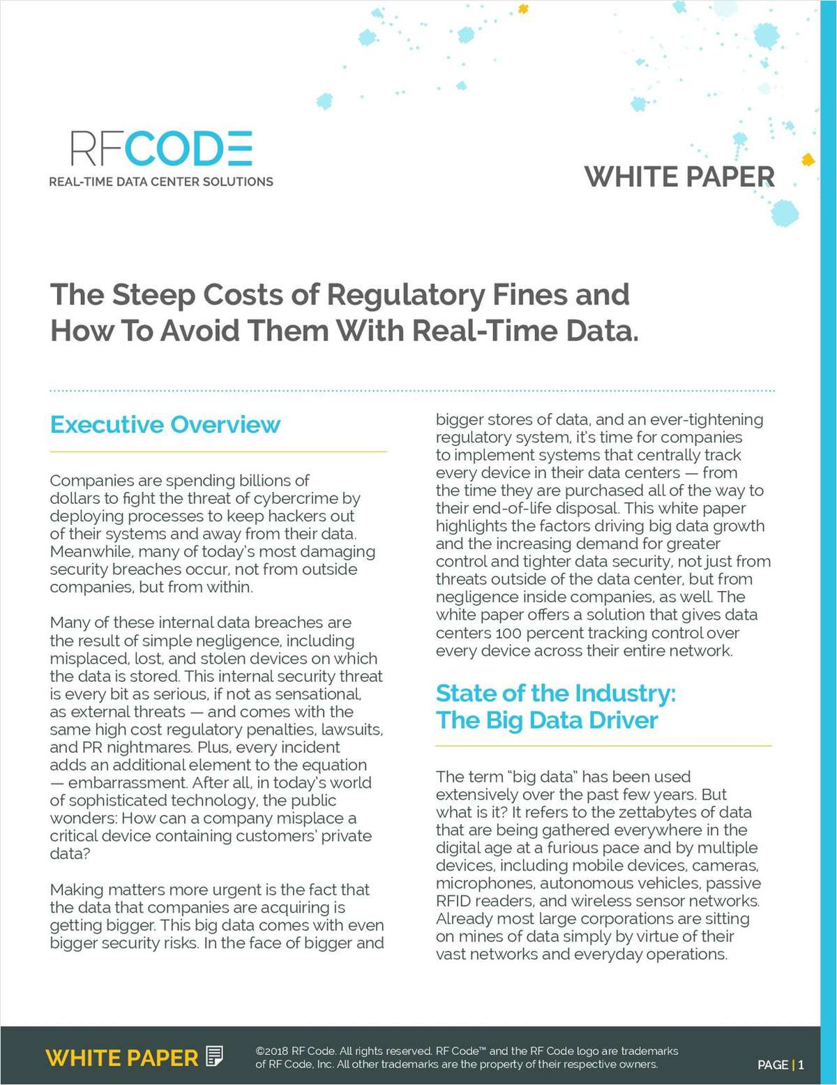 The Steep Costs of Regulatory Fines and How to Avoid Them With Real-Time Data