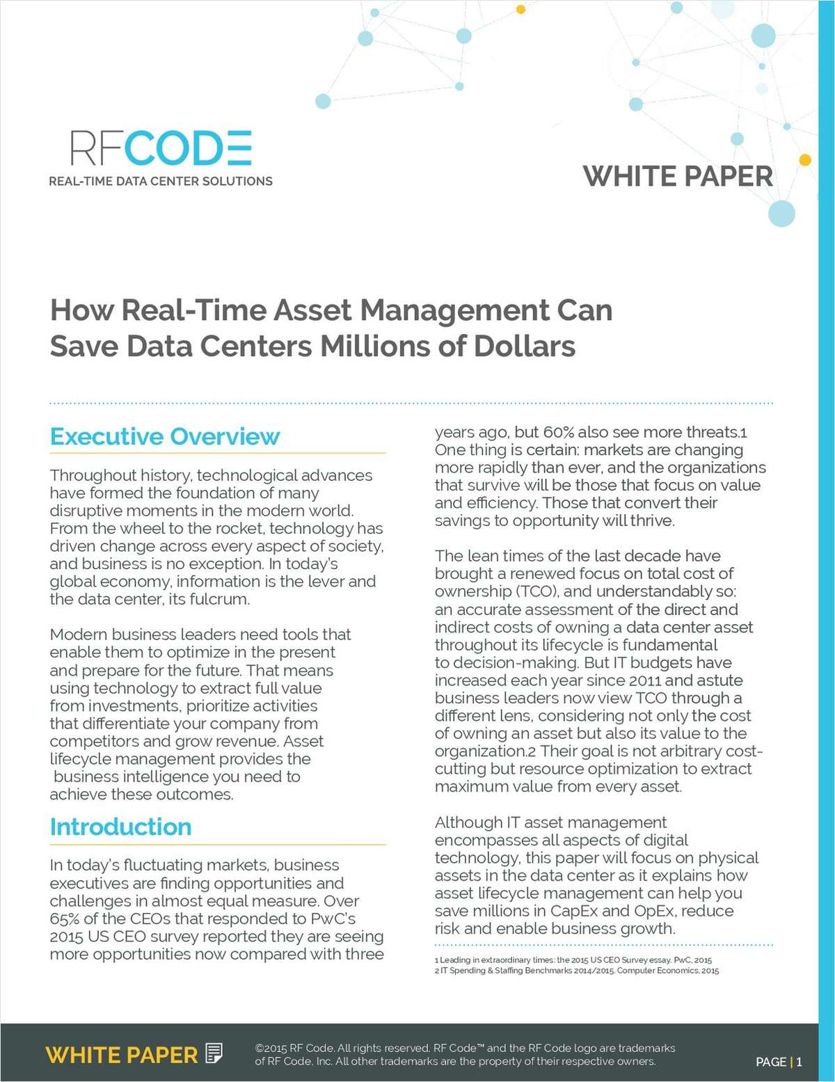 How Real-Time Asset Management Can Save Data Centers Millions of Dollars