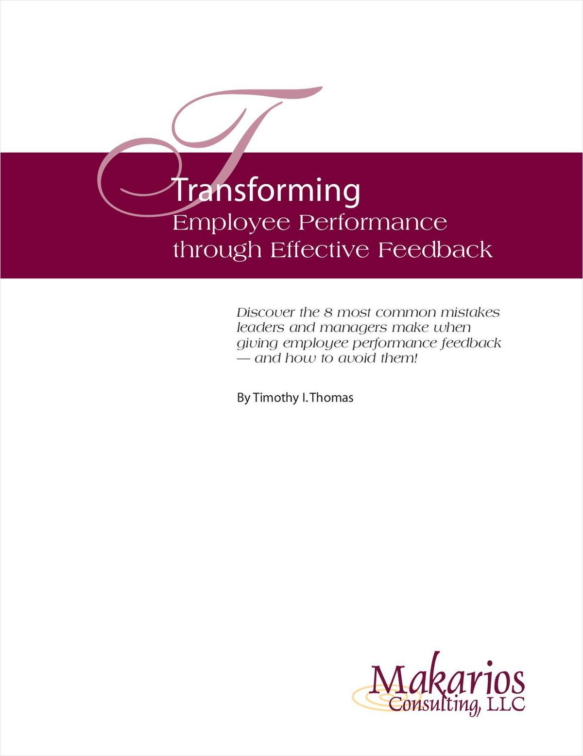 Transforming Employee Performance Through Effective Feedback