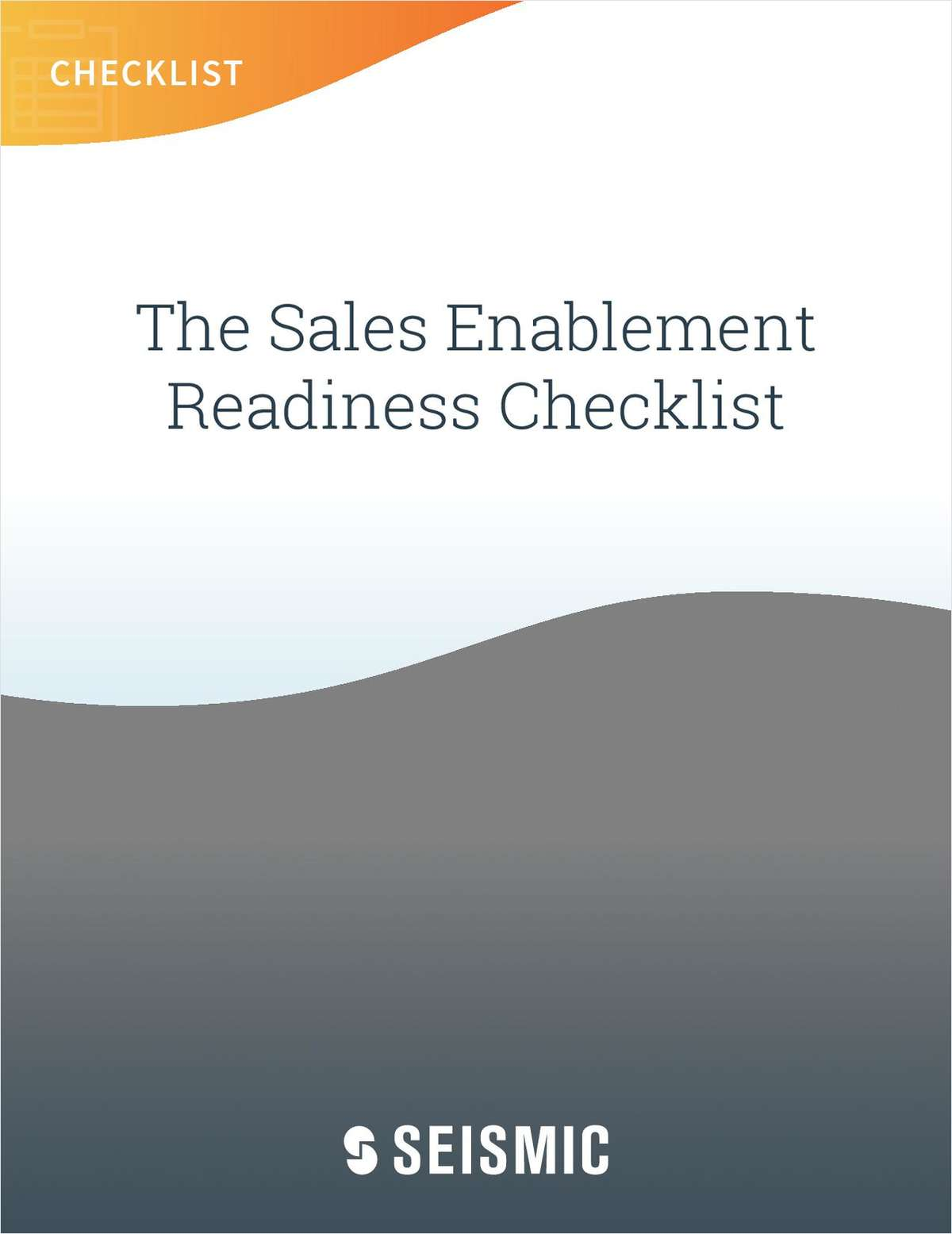 Sales Enablement Readiness