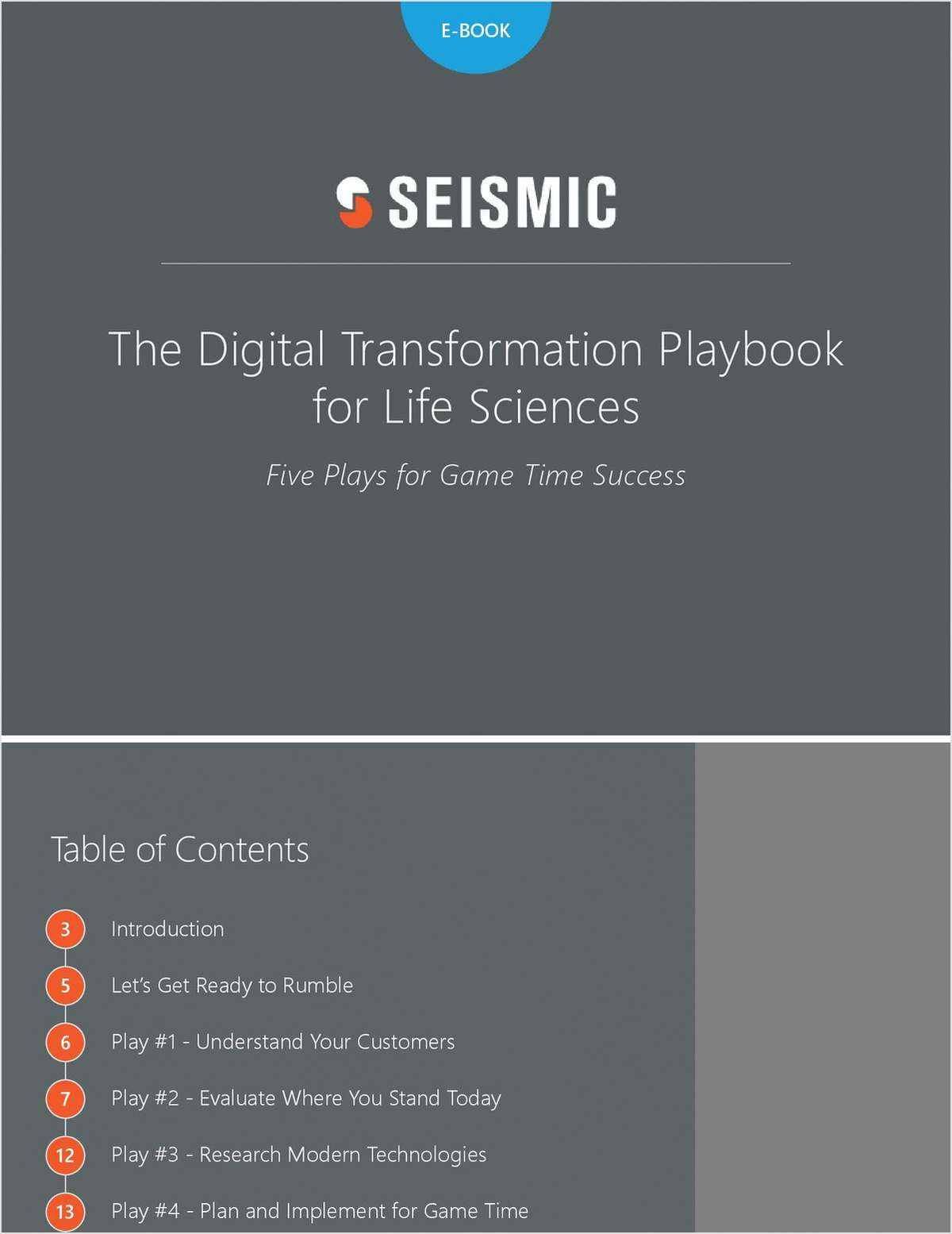 The Digital Transformation Playbook for Life Sciences