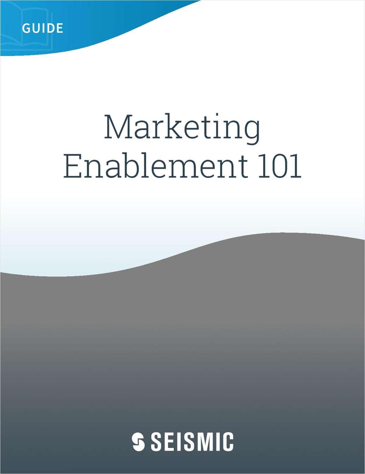 Marketing Enablement 101