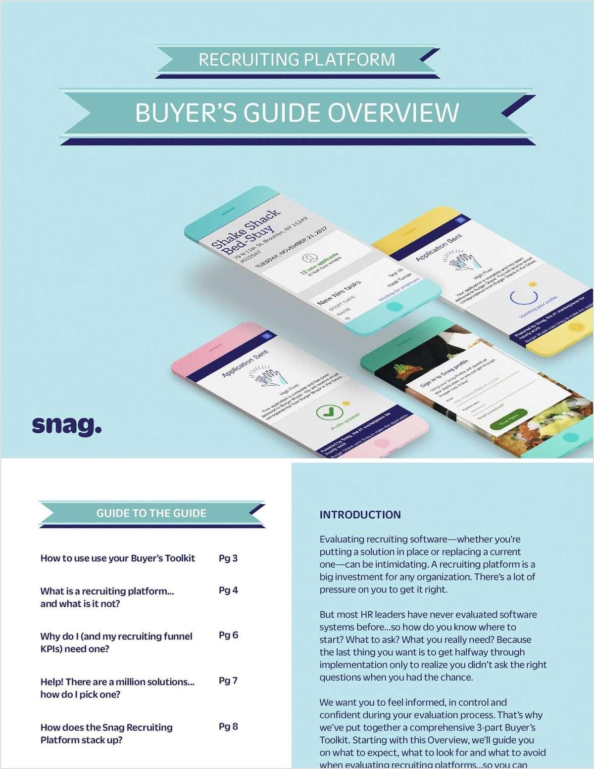 Recruiting Platform Buyer's Toolkit