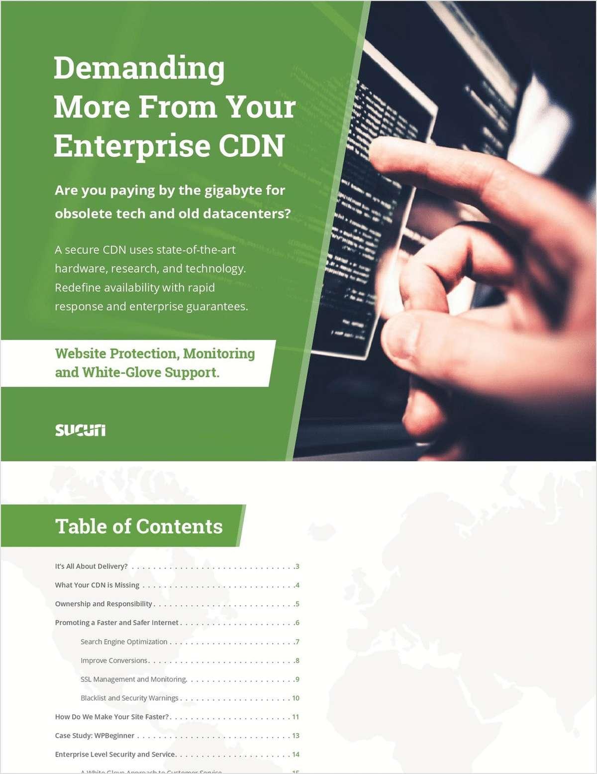 Demand More From Your Enterprise CDN