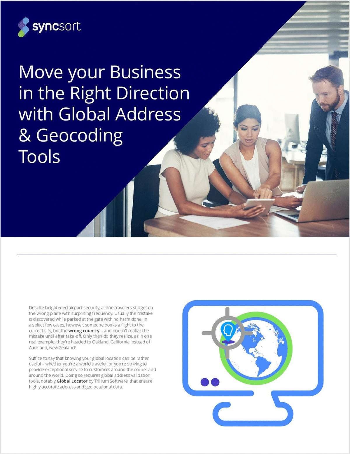 Move Your Business in the Right Direction with Global Address & Geocoding Tools
