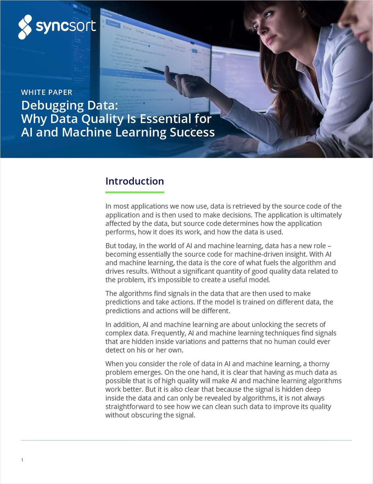 Learn Why Data Quality is Essential for AI and Machine Learning Success