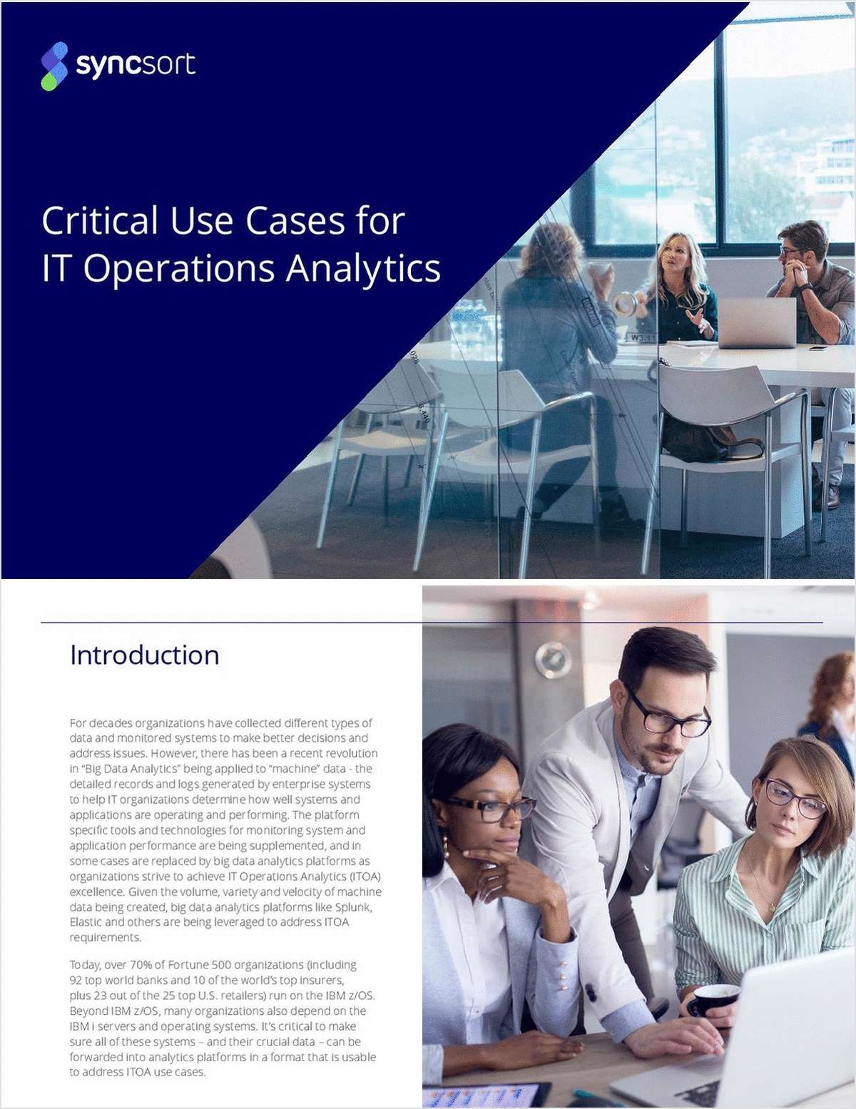 Critical Use Cases for IT Operations Analytics