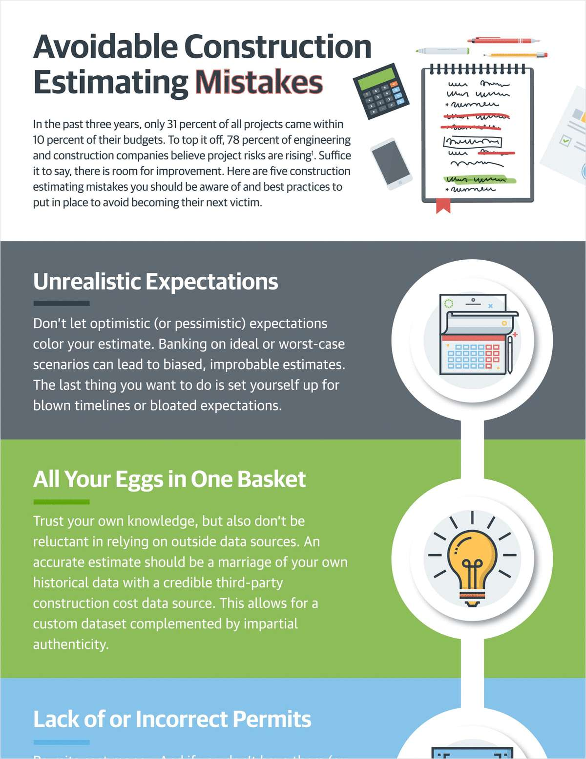 Avoidable Construction Estimating Mistakes