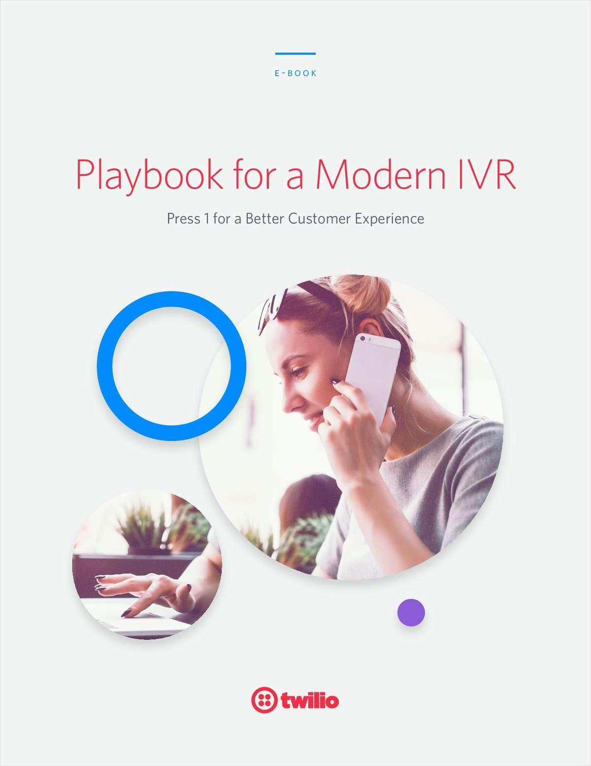Playbook for a Modern IVR
