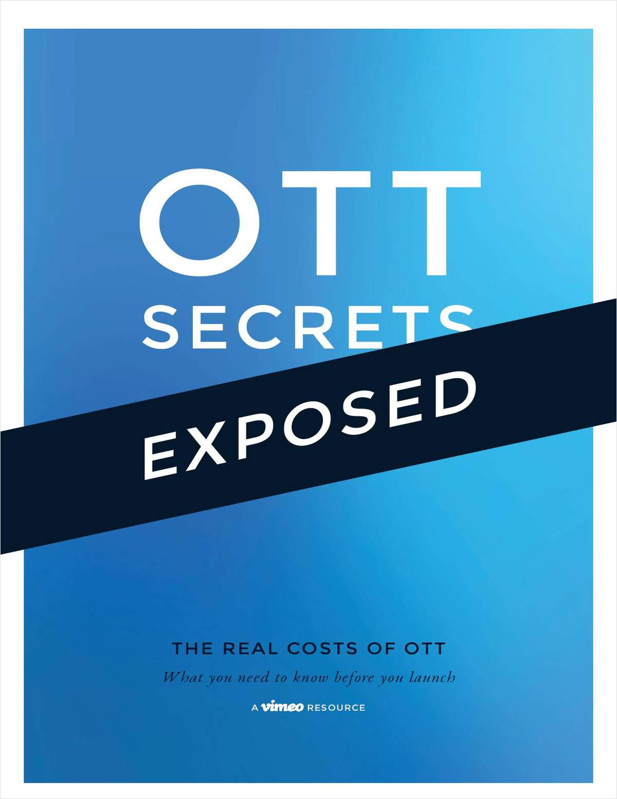 The Real Cost of OTT