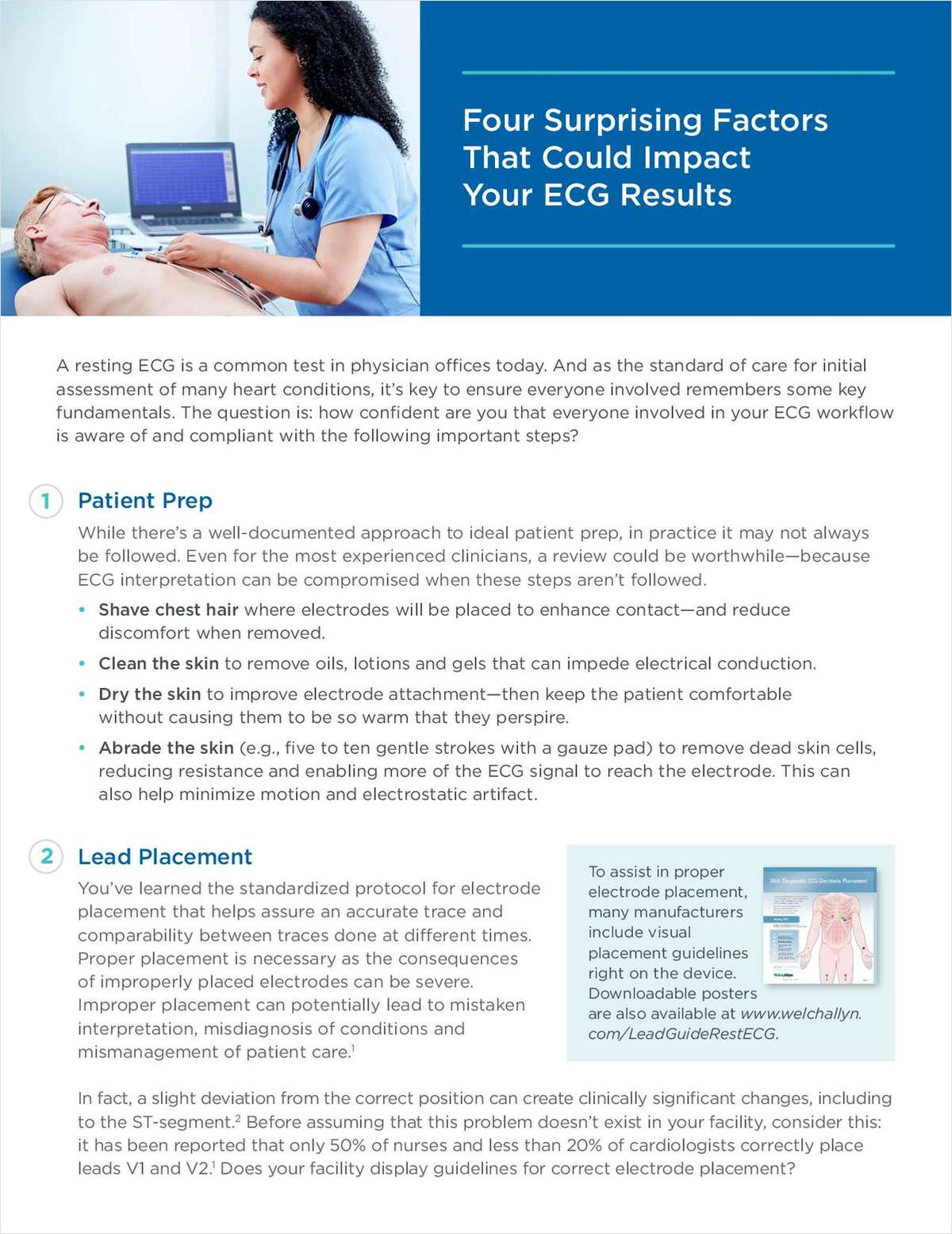 Four Surprising Factors that Could Impact Your ECG Results