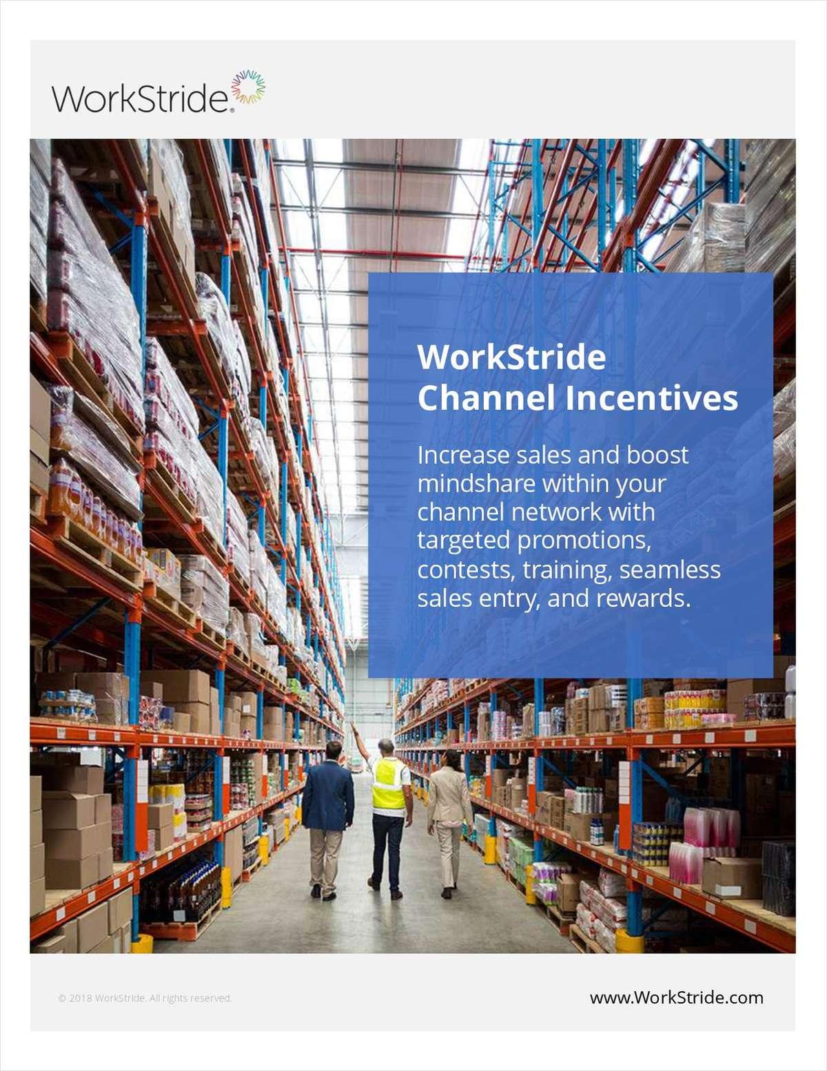 WorkStride Channel Incentives
