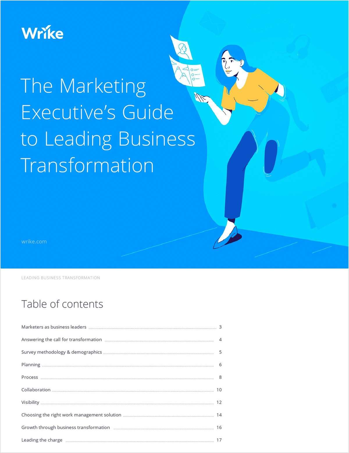 The Marketing Executive's Guide to Leading Business Transformation